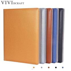 Clipboard Folder Portfolio Multi-function Leather Organizer Study Office Manager Clip Writing Pads Legal Paper Contract