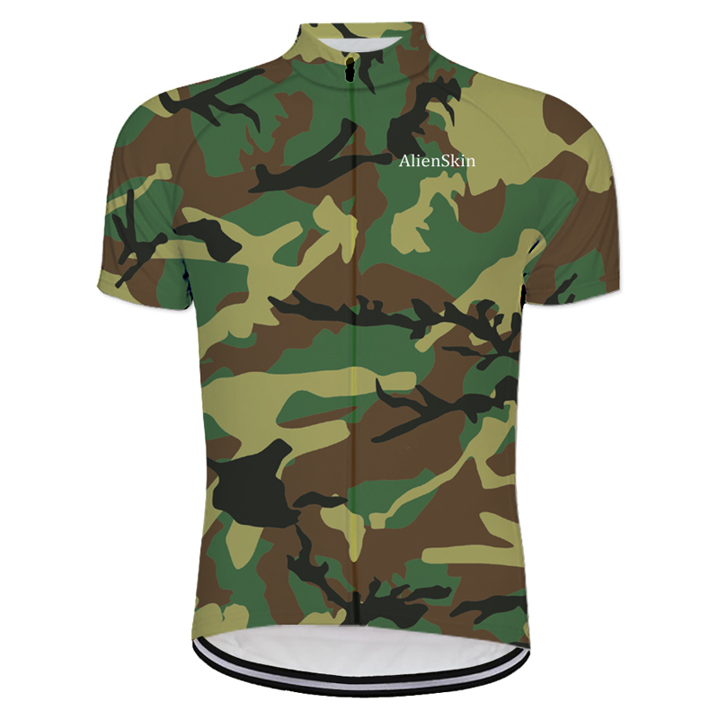 camouflage sublimation printing cycling jersey wear best 2018 pro polyester  cycling clothing summer men quick dry bicycle wear 5ed7891b3