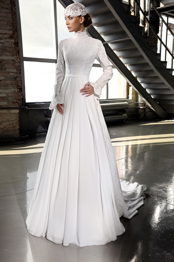 wedding dress from reliable muslim hijab wedding dress suppliers on