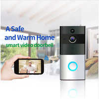 720 P caméra IP Smart WIFI porte cloche sans fil vidéo porte téléphone vision nocturne deux voies audio étanche sécurité à domicile bébé moniteur