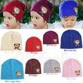 Novo chapéu criança cap bebê Dos Desenhos Animados Retail Bonito Little Bear Pequeno Ponto Solidéu Caps Chapéus Das Crianças Das crianças Primavera Outono 1-4 M