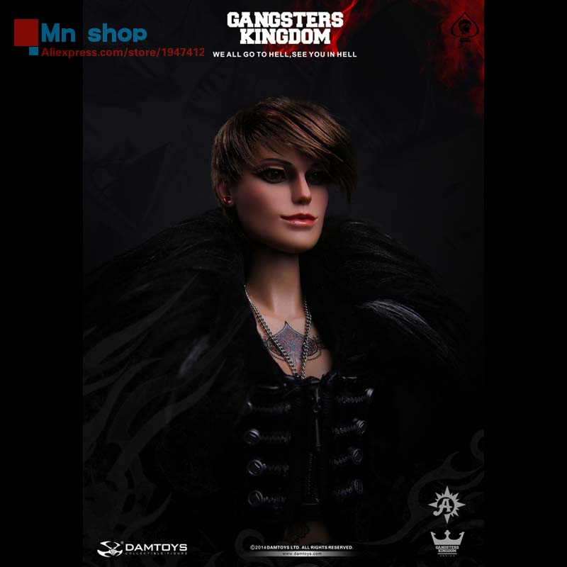 DAM TOYS Original Series Gangsters Kingdom GK 008 Spades6 Female Ada With Head + Body Clothing Set 1/6 Action Figure Toys