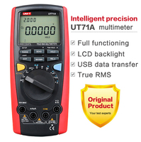 UNI T UT71E Intelligent LCD Digital Multimeter With USB Interface Frequency Tester Meter Power 2500W USB