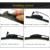 """Limpiaparabrisas cuchillas para honda accord (sedán y tourer, 2003-2008) 26 """"+ 16"""" fit estándar j brazos del limpiaparabrisas hook sólo hy-002"""