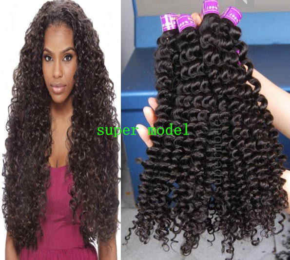 Spiral Curl Brazilian Remy Human Hair Curly Weave 3pcslot 12 30inch