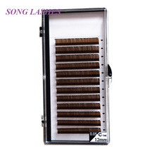 SONG LASHES  High Quality Eyelash Extensions False lashes 12 lines per tray
