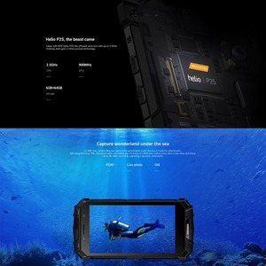 Image 4 - IP68 DOOGEE S60 Wireless Charge 5580mAh 12V2A Quick Charge 5.2 FHD Helio P25 Octa Core 6GB 64GB Smartphone 21.0MP Camera NFC