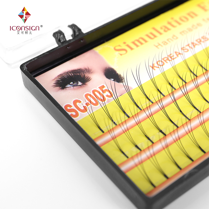 Bulu mata bulu mata 3D Makeup Eyelash 0.10mm C Curl Natural Long False Palsu Bulu tunggal Mata lashes bulu mata alat cilia