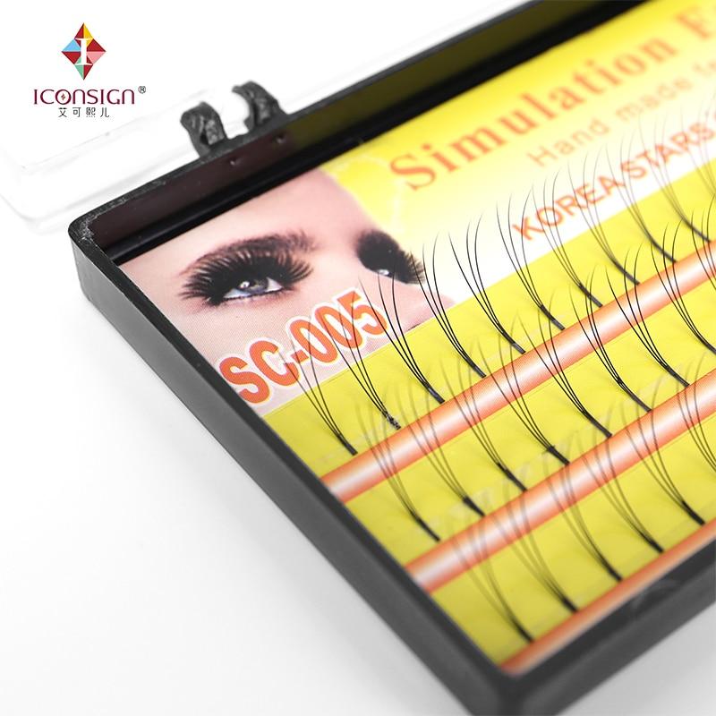 3D eyelashes Makeup Eyelash 0.10mm C Curl Natural Long False Fake single Eyelashes Extension eye lashes cilia makeup tools