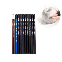 13Pcs Set Standard Drawing Sketching Pencils 2H 14B Soft Artist Charcoal Sketch Painting Draft Pencil Set