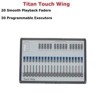1 шт. Touch крыло DMX консоли профессиональное сценическое освещение контроллер поддерживает все Titan Tiger Touch кварцевые