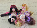 New Excellent Quality Doll Head with Colorized Hair DIY Accessories Barbie Dolls head