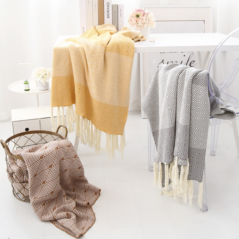 Sofa Throw Blanket Modern Bedding Bed