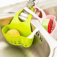 Регулируемая Раковина аксессуары корзина для хранения оснастки кран многократного использования висячая сумка кухонные инструменты висячая корзина