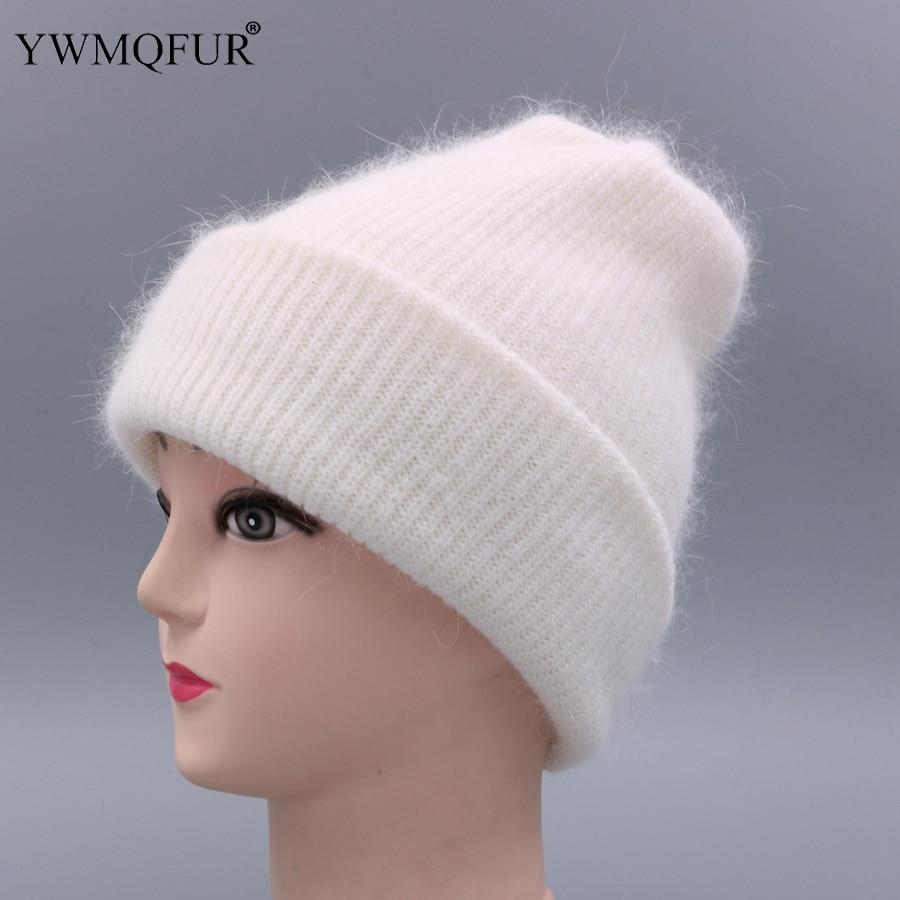 YWMQFUR Ženski klobuk za jesensko zimo pletene volnene zvence modni - Oblačilni dodatki