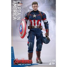 2019 New Hot Toys 1/6th Scale Avengers Age Captain America Figure Toy Model цена 2017