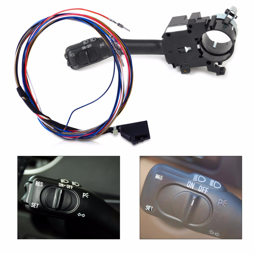 DWCX 1J0953513 1J1970011F Cruise Control System Stalk Harness For VW Golf GTI Jetta Bora MK4 Passat