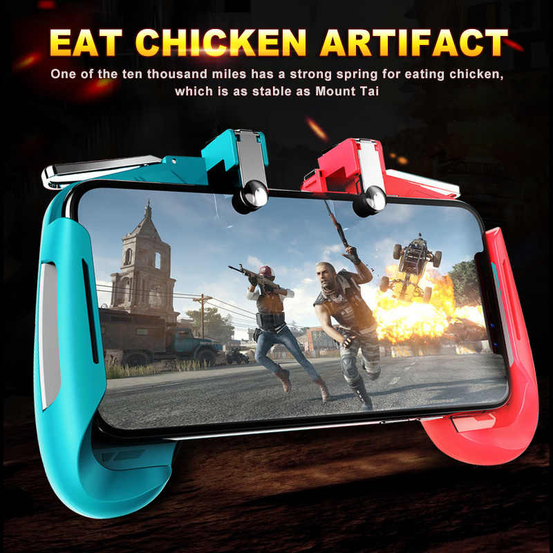 Pubg Controller for Phone L1R1 Grip with Joystick / Trigger L1r1 Pubg Fire Buttons for IPhone Android IOS