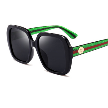 94273f45bb362 2018 polarized Brand designer luxury sunglasses women Oversized square mens  sunglasses eyewear UV400 drive Red Green glasses
