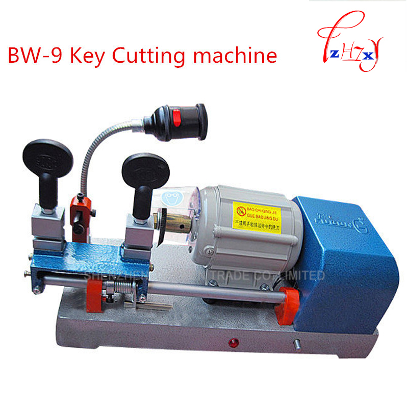1pc Multi fuctional chucking BW-9 Key Duplicating Machine for Duplicating Security Keys Locksmith Tools Lock Pick Set 220v/50hz 339c vertical key cutter key cutting machine for duplicating security keys locksmith tools lock pick set 220v 50hz