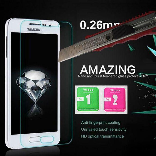 Tempered glass For Samsung Galaxy J1 J100 SM-J100F Screen Protector Film for samsung j1 2016 SM-J120H SM-j120f/ds j1 mini j1 nxt