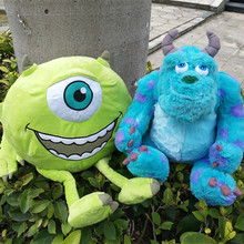 Free shipping Original  plush toys Mike Wazowsk and Sulley Sullivan Monsters Inc Plush doll for birthday gift цена 2017