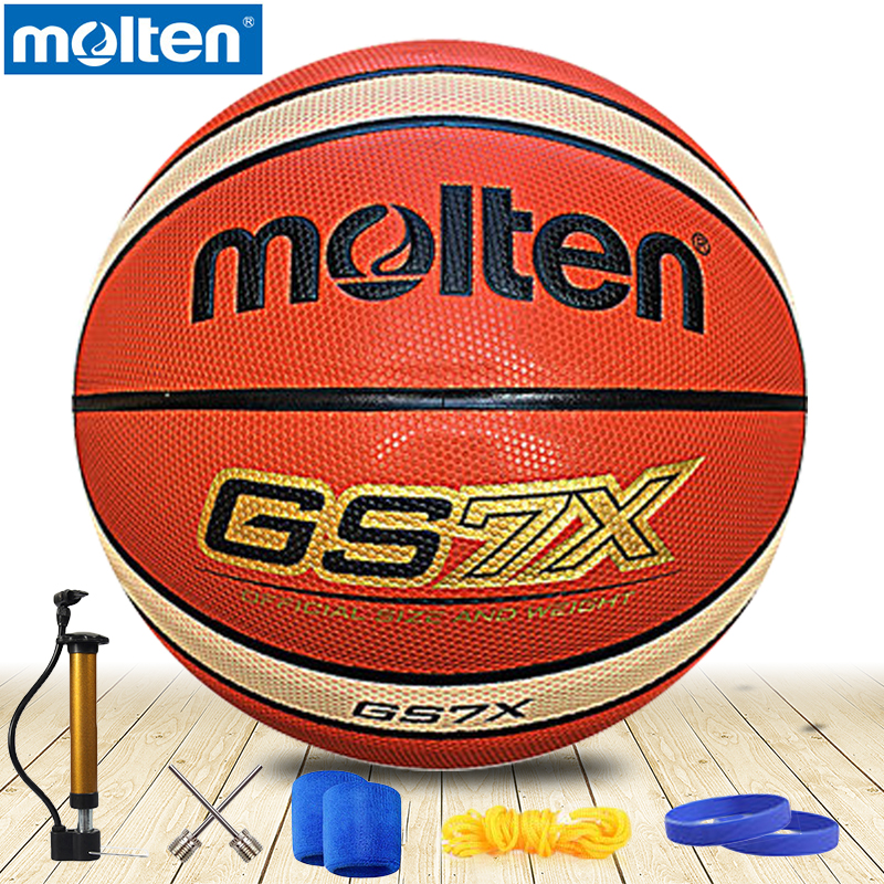 original molten basketball ball GS7X GC7X GG7XNEW Brand High Quality Genuine Molten PU Material Official Size7 Basketball original molten basketball ball gp76 gq7xnew brand high quality genuine molten pu material official size7 basketball