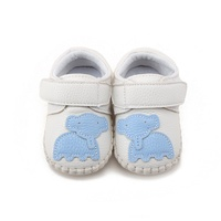 Baby Boy Girls Spring Cute Cartoon Pattern First Walker Infant Soft Sole PU Leather Casual Crib Shoes