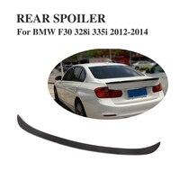 Fibra de carbono tronco traseiro boot spoiler asa para bmw série 3 f30 328i 335i 2012-2014