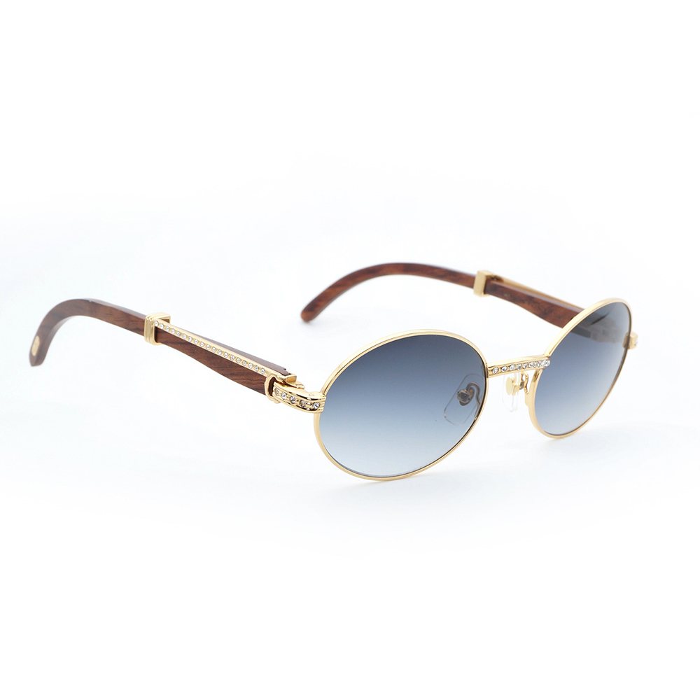 Luxury diamond Brand Designer carter glasses wood sunglasses men frames wooden buffalo horn frame rhinestone optical eyeglasses wood glasses frames carter sunglasses 2018 wooden sunglasses men clear gold retro fill prescription eyeglasses frame shades mens