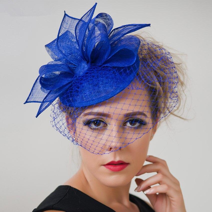 Online Get Cheap Royal Blue Fascinator
