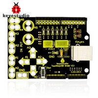 Freies verschiffen! neue keyestudio Sensortasten USB schild für arduino