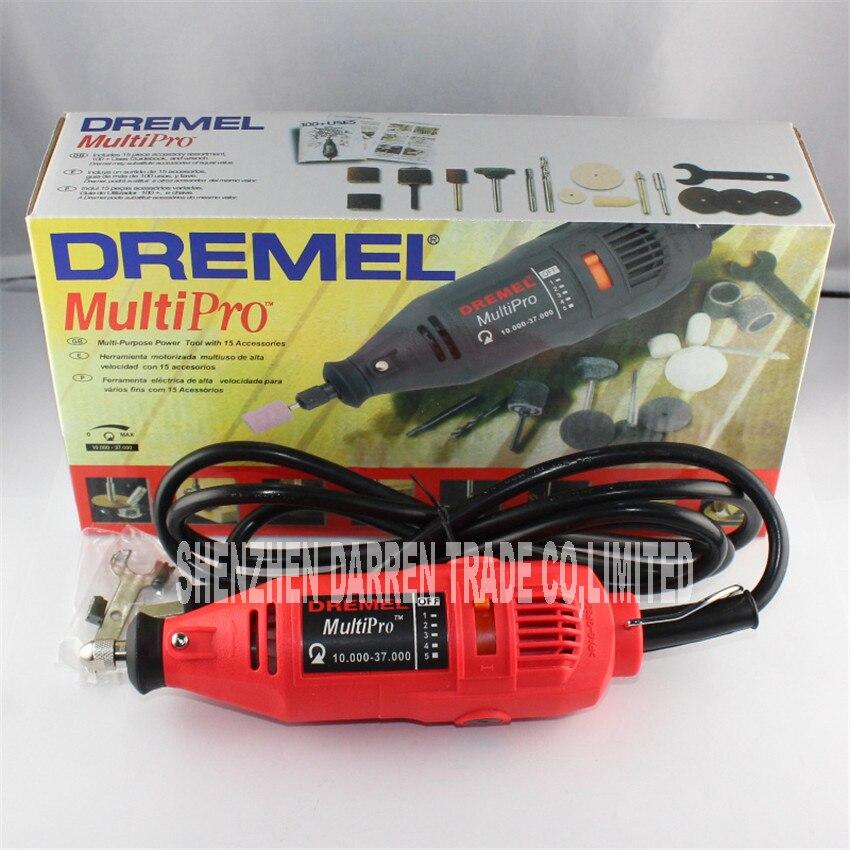 220W Dremel Grinder Variable Speed Rotary Tool,Dremel Mini Drill Electric mill 10000-37000R/MIN  цены