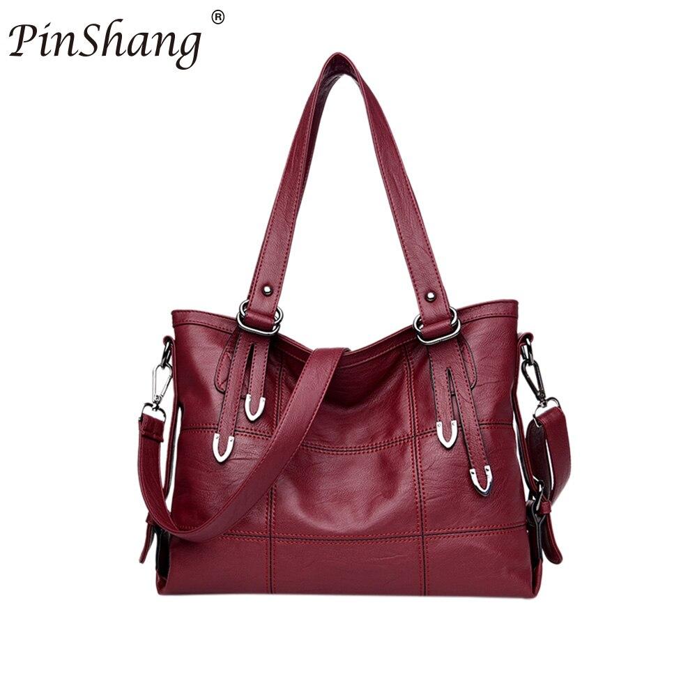 PinShang Fashion PU Satchel Handbag Single Shoulder Oblique Cross Bag with Removable Shoulder Strap Deluxe large zippe ZK30