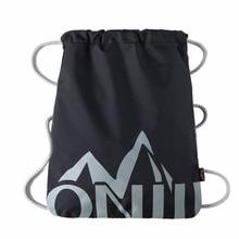 Простой водонепроницаемый рюкзак drawstring твердые сумка сверхлегкий мешок yoga тренажерный зал спортивная сумка альпинизм мешки для женщины мужчины