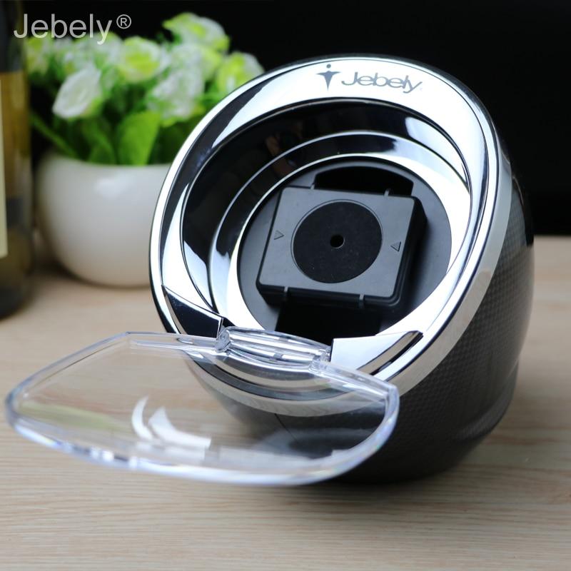 Jebely Black Single Watch Winder para relojes automáticos Winder - Accesorios para relojes - foto 3
