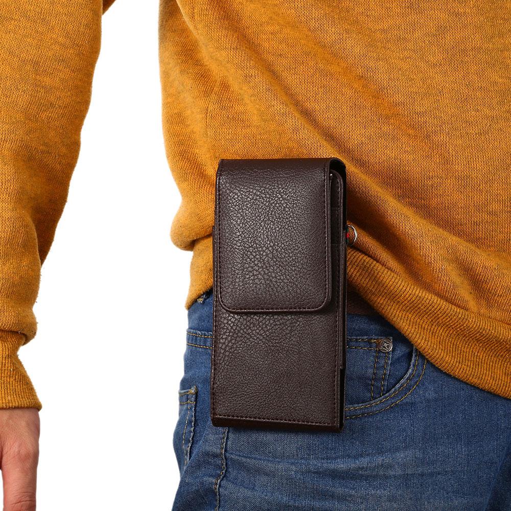 Boucho påse PU läder telefon flip multifunktionsskydd telefon - Reservdelar och tillbehör för mobiltelefoner - Foto 6