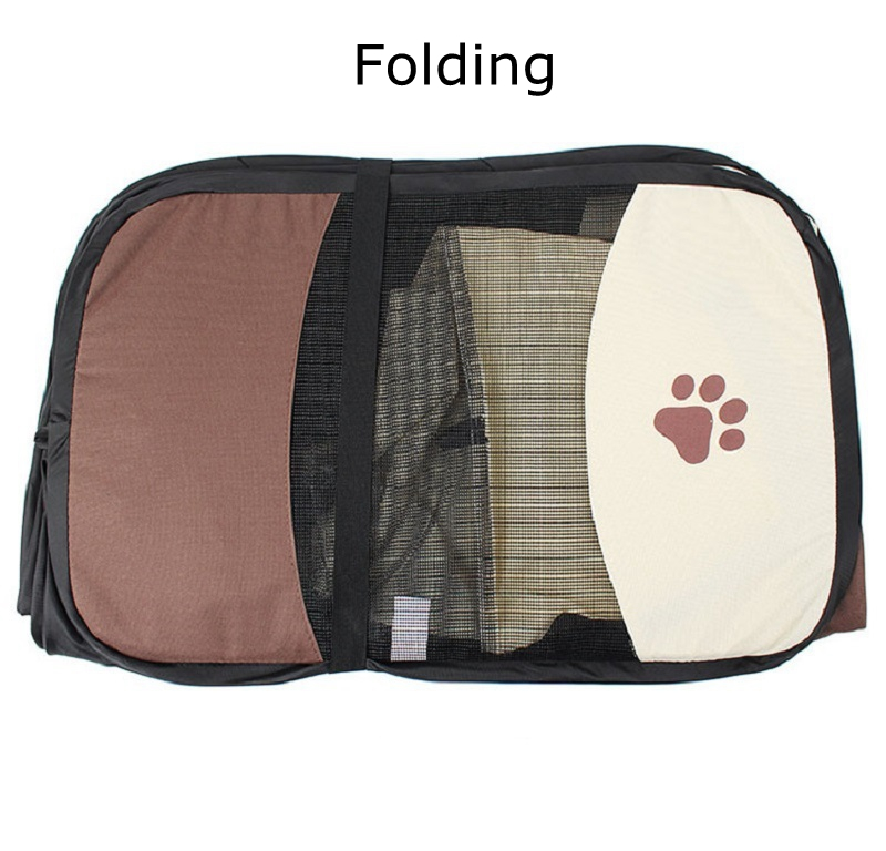 2018 New TECHWILL Portable Pet Carrier Bag Creative Folding Pet Tent Fashionable Soft Kennel Doghouse Cat Cage Bag for Dog Puppy-in Dog Carriers from Home ...  sc 1 st  AliExpress.com & 2018 New TECHWILL Portable Pet Carrier Bag Creative Folding Pet ...