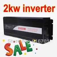 Hot Sale solar inverter 2000w pure sine wave off grid tie inverters dc 12v24v48v input to ac 220v output