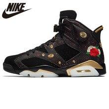 buy popular 51a0e 6b436 Nike AIR JORDAN 6 RETRO CNY Gravé basketball pour hommes Chaussures,  D origine absorbant