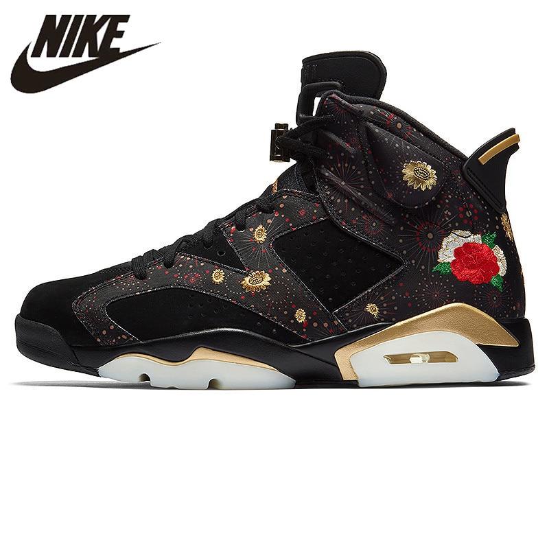 US $167.44 30% OFF|Nike AIR JORDAN 6 RETRO CNY Gegraveerd heren Basketbal  Schoenen, Originele schokabsorberende Outdoor Sneakers AA2492-in Basketbal  ...