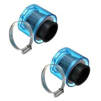 2 шт. 38 мм Пит Байк брызг воздушный фильтр двойной пены производительности