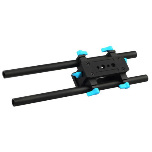 FOTGA DP3000 15mm Standard Dual Rod Baseplate Rig M2 for A7 A7RS A7RIII GH4 GH5 GH5S GH6 A6000 A6500 FS7 BMPCC