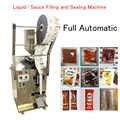 Automatico per Liquidi Macchina Imballatrice Salsa di Pasta di Olio di Peperoncino Quantitativa di Riempimento e di Tenuta Della Macchina MG-600