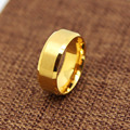 High quality Gold plated ring vintage classic lovers' rings for men women bague Valentine's gift bijouterie jewelry new 2017