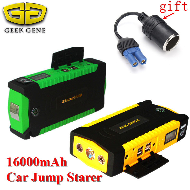 Emergency Car Jump Starter 600A Portable Lighter Power Bank 12V Car Charger For Car font b
