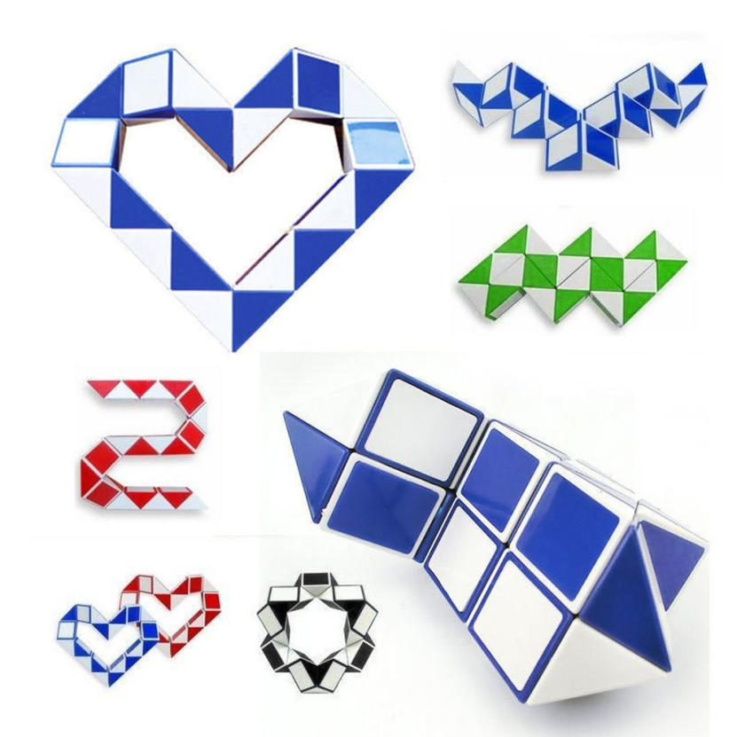 Cool Snake Magic Variety Popular Twisted Child Game Convertible Gift Puzzle AR Toy Puzzle Toy Rubik's Cube Variety Magic Ruler08