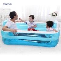 Портативная надувная Ванна из ПВХ для взрослых, Складная Ванна для красоты воды, безопасная и экологически чистая Нетоксичная Толстая ...