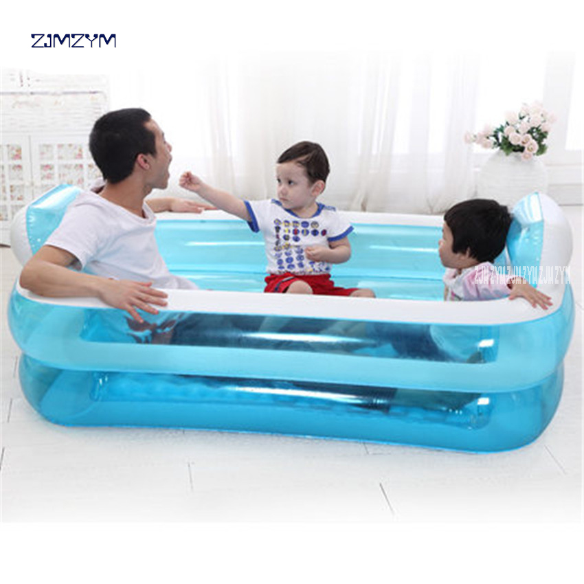 Portable PVC Adult Inflatable Bath Tub Folding Wat