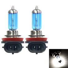 H8 Head lamps 12V 55W 5000-6000K Car Headlight Lam Light Super Bright Fog Xenon Bulb White 12V